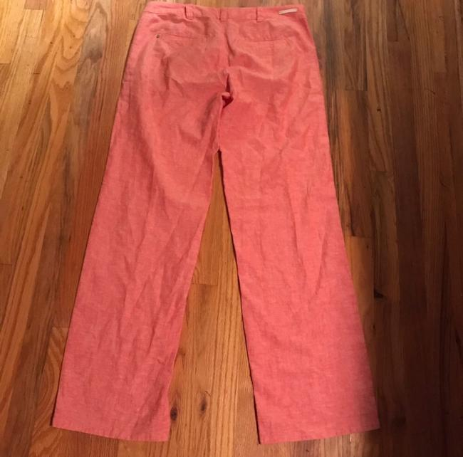 Anthropologie Wide Leg Pants Coral Image 4