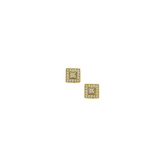 Preload https://img-static.tradesy.com/item/25825403/yellow-april-birthstone-diamond-square-earrings-in-14k-gold-050-ct-td-ring-0-0-540-540.jpg