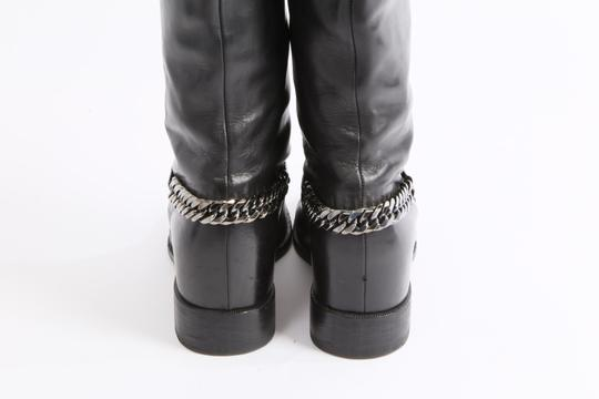 Christian Louboutin Knee High Winter Black Boots Image 3