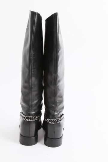 Christian Louboutin Knee High Winter Black Boots Image 4
