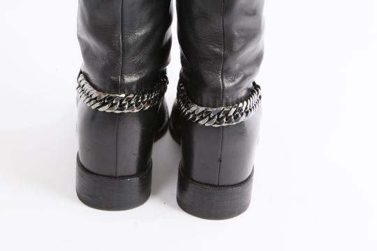 Christian Louboutin Knee High Winter Black Boots Image 5