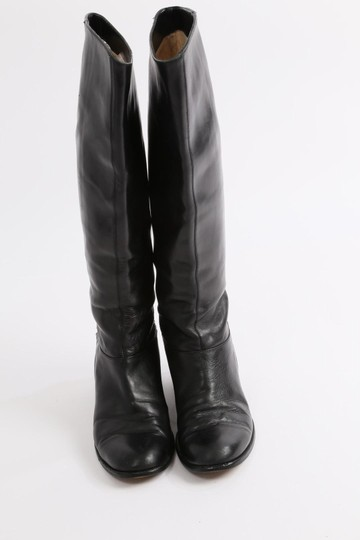 Christian Louboutin Knee High Winter Black Boots Image 9