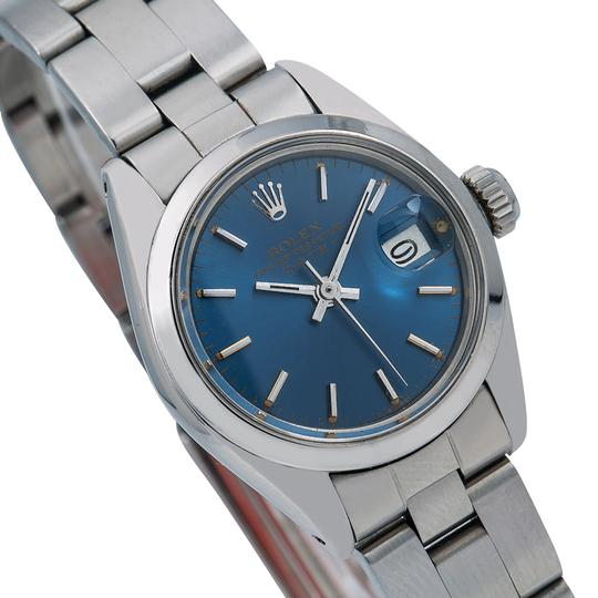 Rolex Rolex Oyster Perpetual Date 6916 26MM Blue Dial With Stainless Steel Image 2