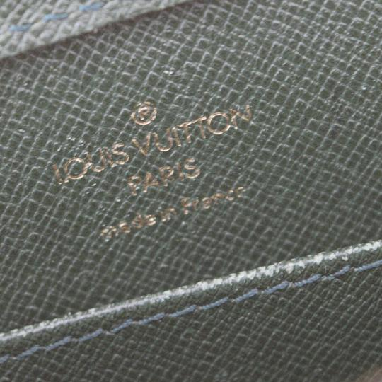 Louis Vuitton Made In France Green Clutch Image 10