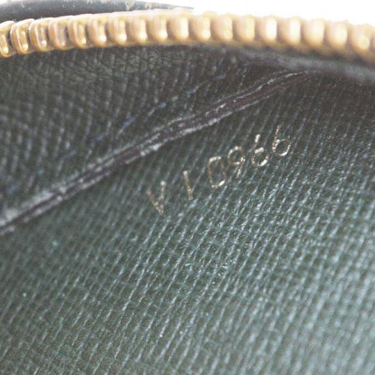 Louis Vuitton Made In France Green Clutch Image 11