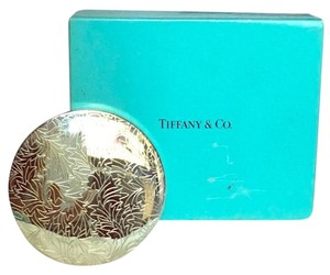 Tiffany & Co. Tiffany silver pocket mirror