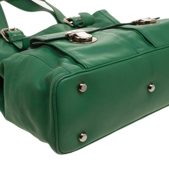 Marc Jacobs Leather Suede Tote in Green Image 4