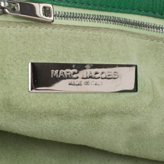 Marc Jacobs Leather Suede Tote in Green Image 8