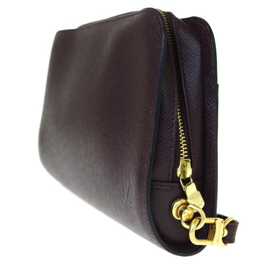Louis Vuitton Made In France Acajou Clutch Image 1
