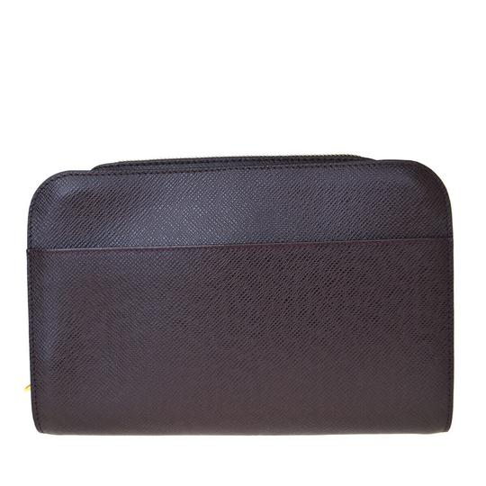 Louis Vuitton Made In France Acajou Clutch Image 3
