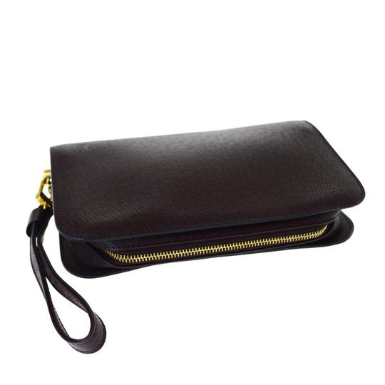 Louis Vuitton Made In France Acajou Clutch Image 5