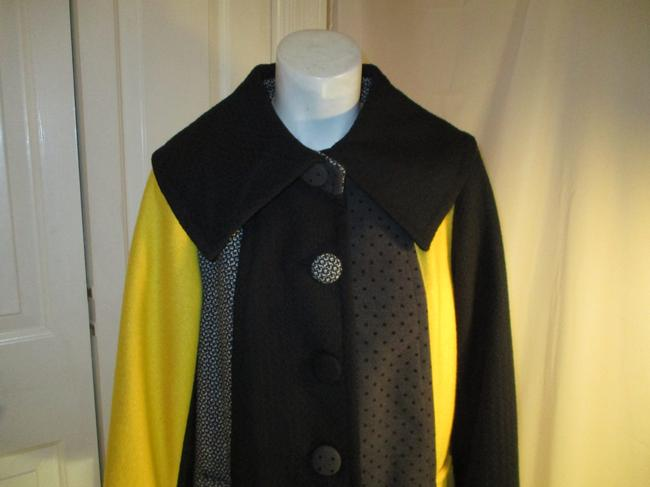 SPANNER Patchwork Full Cut A Line Onm003 Pea Coat Image 1