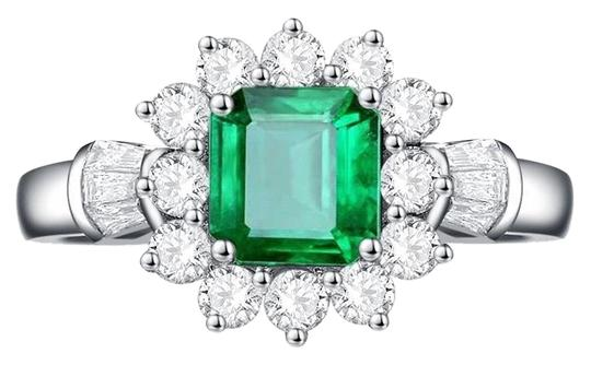Preload https://img-static.tradesy.com/item/25825673/emerald-sterling-silver-new-arrival-vintage-925-natural-gemstone-diamond-for-women-ring-0-1-540-540.jpg