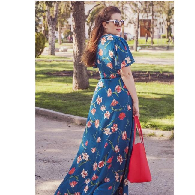 Teal Maxi Dress by Privacy Please Image 1