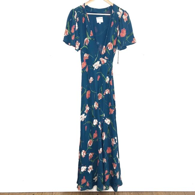 Teal Maxi Dress by Privacy Please Image 2