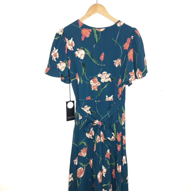Teal Maxi Dress by Privacy Please Image 3