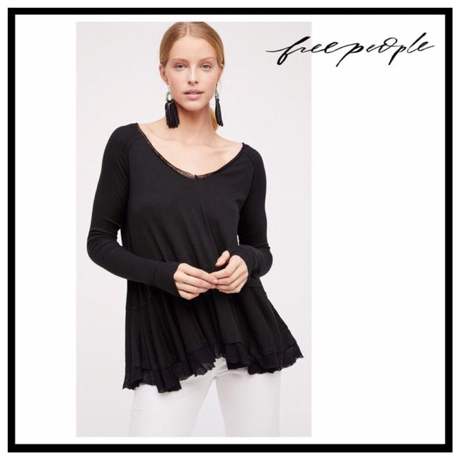 Preload https://img-static.tradesy.com/item/25825677/free-people-black-flared-hem-knit-thumbhole-tunic-tee-shirt-size-4-s-0-0-650-650.jpg