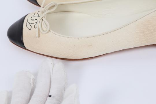Chanel Casual White Flats Image 5