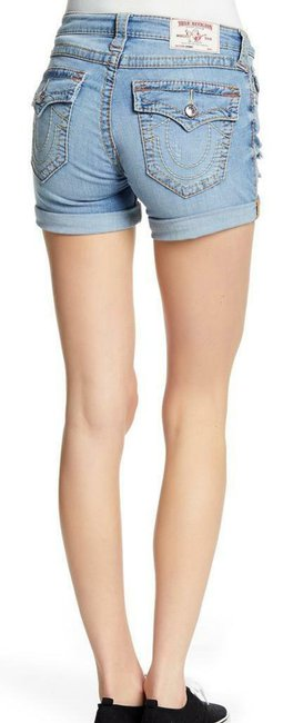 True Religion Denim Shorts-Distressed Image 2