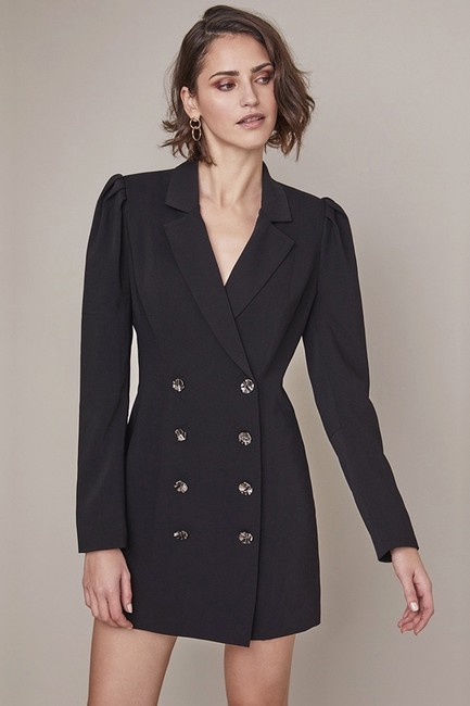 ASTR Mini Blazer Blazer Dress Image 1