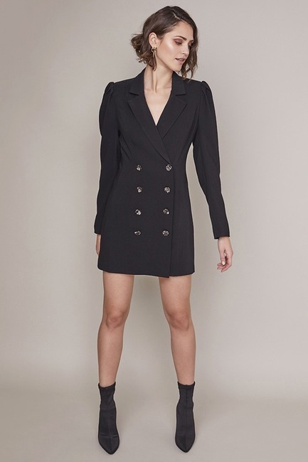 ASTR Mini Blazer Blazer Dress Image 3
