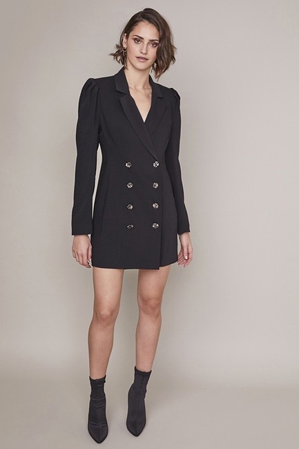 ASTR Mini Blazer Blazer Dress Image 4
