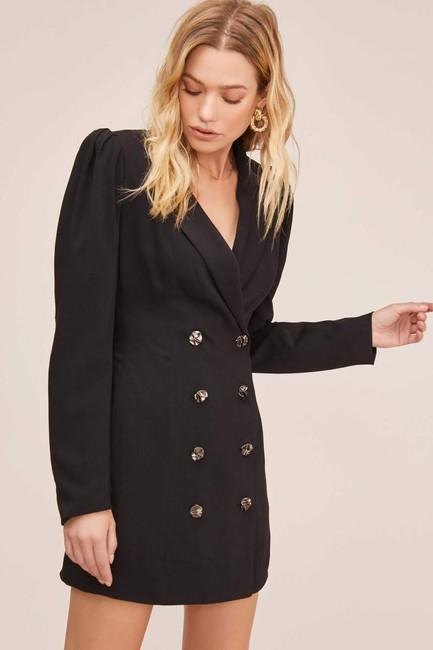 ASTR Mini Blazer Blazer Dress Image 6
