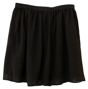 Frenchi Nordstrom Basic Mini Skirt Black