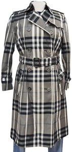Burberry London Hawkesbury Plaid House Check Trench Coat