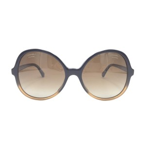 Chanel Butterfly Brown Gradient Oversized 5351 1559 Sunglasses