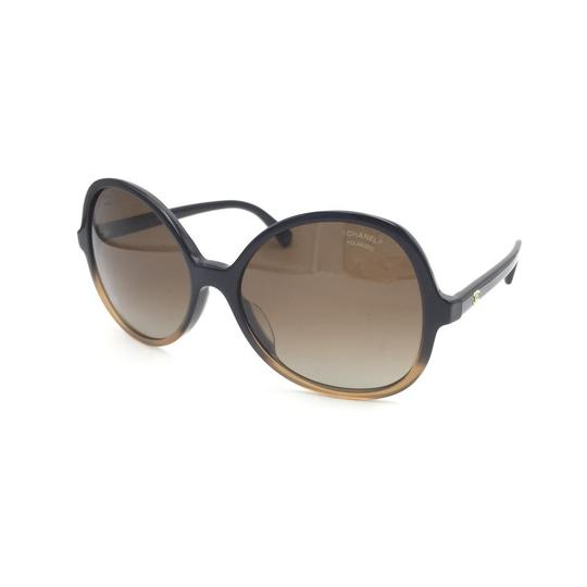 Chanel Butterfly Brown Gradient Oversized 5351 1559 Sunglasses Image 1