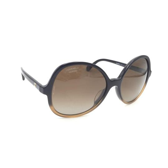 Chanel Butterfly Brown Gradient Oversized 5351 1559 Sunglasses Image 2