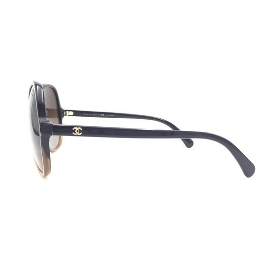Chanel Butterfly Brown Gradient Oversized 5351 1559 Sunglasses Image 3