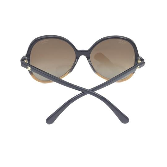 Chanel Butterfly Brown Gradient Oversized 5351 1559 Sunglasses Image 7