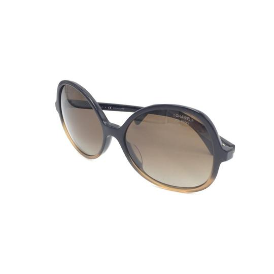 Chanel Butterfly Brown Gradient Oversized 5351 1559 Sunglasses Image 8