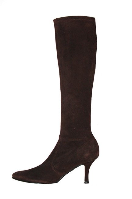 Item - Brown Suede Boots/Booties Size US 7.5 Regular (M, B)