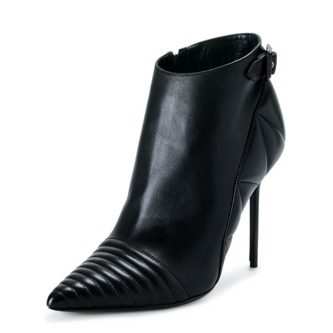 Burberry London Black Women's Leather High Heels Ankle Boots/Booties Size US 10 Regular (M, B) Burberry London Black Women's Leather High Heels Ankle Boots/Booties Size US 10 Regular (M, B) Image 1