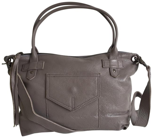 Item - London Gray Leather Tote