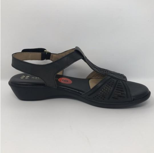 Naturalizer Black Sandals Image 1
