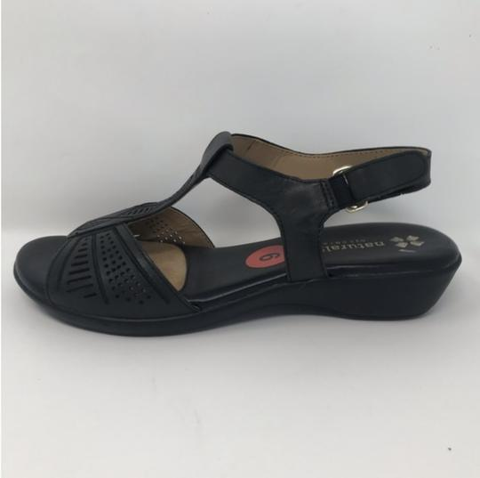Naturalizer Black Sandals Image 2
