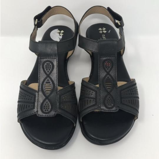 Naturalizer Black Sandals Image 6