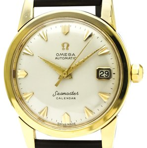 Omega Omega Seamaster Automatic Yellow Gold (18K) Men's Dress Watch 2849