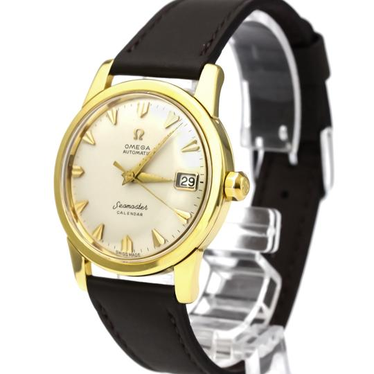 Omega Omega Seamaster Automatic Yellow Gold (18K) Men's Dress Watch 2849 Image 1
