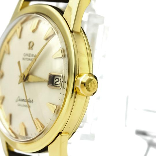 Omega Omega Seamaster Automatic Yellow Gold (18K) Men's Dress Watch 2849 Image 3