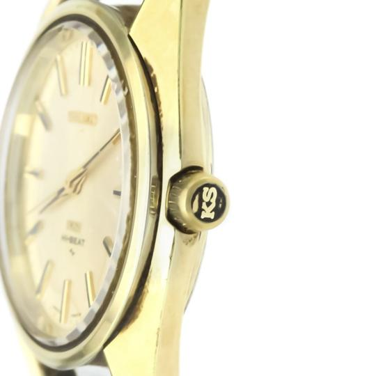 Seiko Seiko King Seiko Automatic Gold Plated Men's Dress Watch 45-7000 Image 1