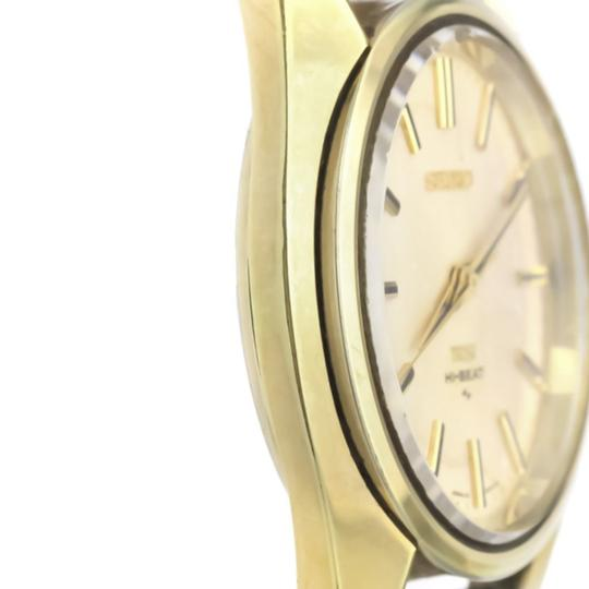 Seiko Seiko King Seiko Automatic Gold Plated Men's Dress Watch 45-7000 Image 2
