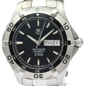 Tag Heuer Tag Heuer Aquaracer Automatic Stainless Steel Men's Sports Watch WAF2010