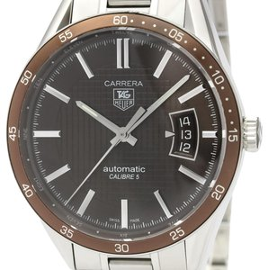 Tag Heuer Tag Heuer Carrera Automatic Stainless Steel Men's Sports Watch WV211N
