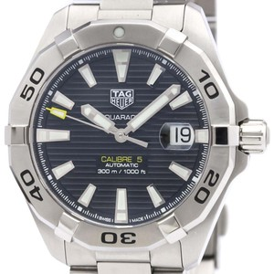 Tag Heuer Tag Heuer Aquaracer Automatic Stainless Steel Men's Sports Watch WBD2110