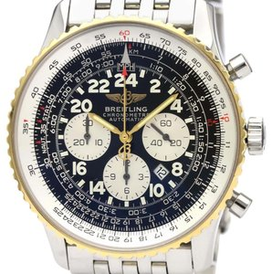 Breitling Breitling Navitimer Automatic Stainless Steel,Yellow Gold (18K) Men's Sports Watch D22322